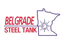 BELGRADE Steel Tank logo.