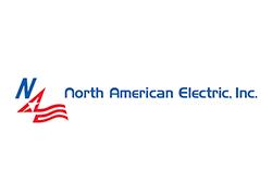 North American Electric logo.