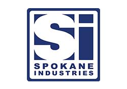 SPOKANE Industries logo.